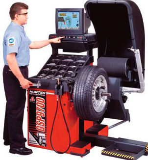 Uravnoteženje in brušenje pnevmatik
